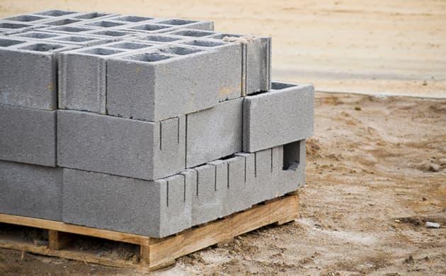 blocos de concreto em São Paulo