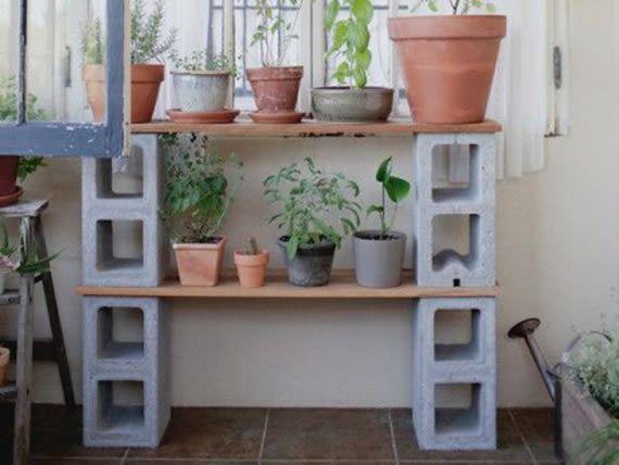 blocos de concreto para jardim